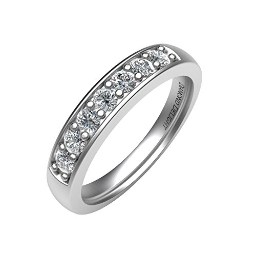 Set Diamond Bridal Eternity Band - 8