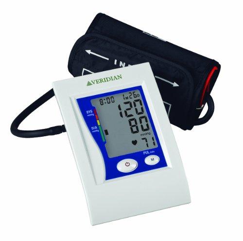 - Veridian 01-5021 Automatic Premium Digital Blood Pressure Arm Monitor, Adult