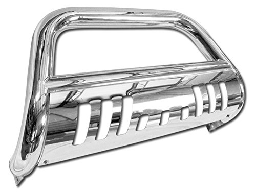 Stainless Steel Front Bumper Bull Bar Guard (Chrome) For 2005-2011 Nissan Frontier All Models; 2005-2007 Nissan Pathfinder All Models; 2005-2008 Nissan Xterra All Models