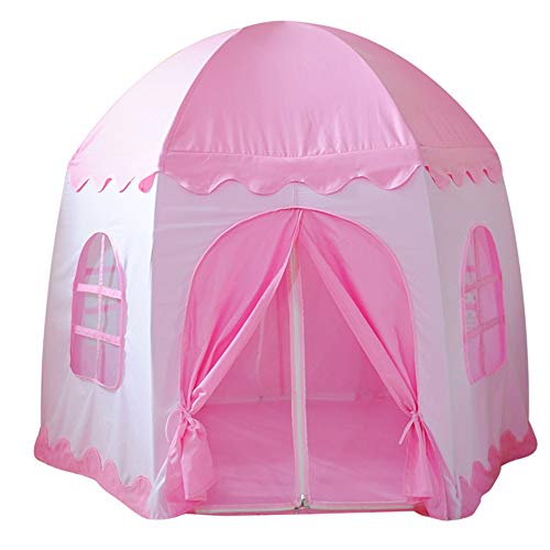 yuandao The Outer Cover of Kids Hexagon Tent, New Princess Tent Hexagonal Princess Castle Indoor and Outdoor Girls Tent