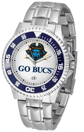 East Watch State Tennessee - Linkswalker Mens East Tennessee State Buccaneers Competitor Steel Watch