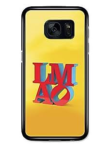 LMAO Internet Love Park Philadelphia Parody on Yellow carcasa de Samsung Galaxy S7
