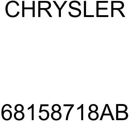 Genuine Chrysler 68158718AB Exhaust Muffler