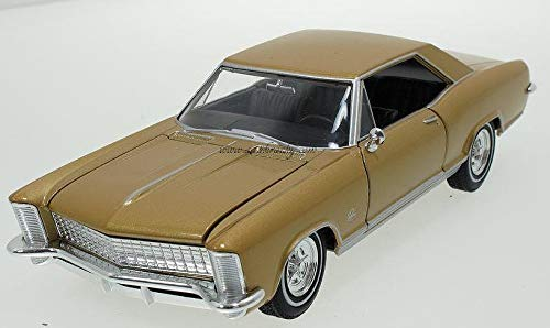 1965 BUICK RIVIERA GRAN SPORT DOURADO 1/24