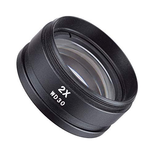 Gsmkey SM20 2X Barlow Lens for SM and SW Stereo Microscopes (48mm)
