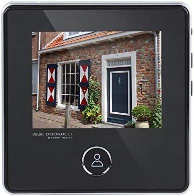 Richer-R インターホン ビデオドアベル デジタル可視ドアベル セキュリティ3MP HDドアベルカメラ ワイヤレスチャイム スマートビデオドアベル 3.0インチTFT LCDスクリーン ナイトビジョン 写真撮影 ホーム/ホテル/ヴィラ用
