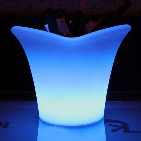 Main Access Napa 24-Color LED Illuminated Swimming Pool Patio and Deck Ice Bucket - 131774