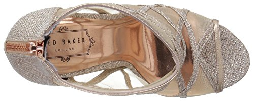 AF Pump Gold Women's Baker Rose Xstal Text Ted fSCIXxq