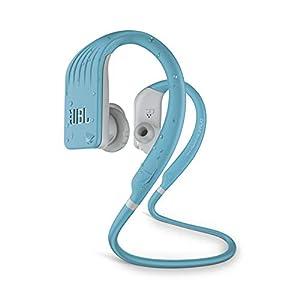 JBL Endurance Jump by Harman Waterproof Wireless Sport in-Ear Headphones with One-Touch Remote (Teal)