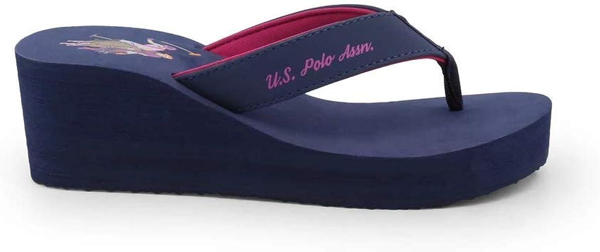 U.S. Polo Chancla CHANT4199S8_Y1A Mujer: Amazon.es: Zapatos y ...