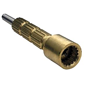 Shower valve stem extension