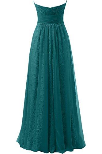 sunvary Sweetheart Cuello con lentejuelas a-line vestido de fiesta vestidos de fiesta verde oscuro