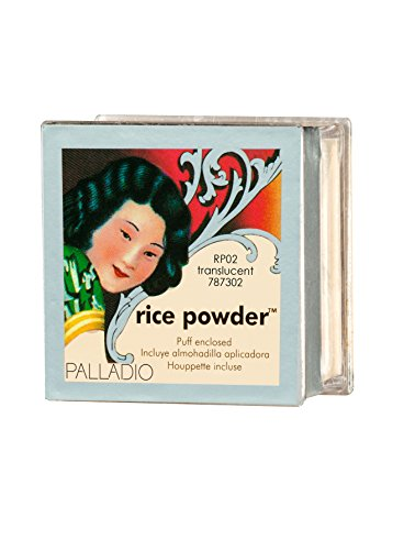 Palladio Rice Powder RPO2 Translucent (Oil Absorbing Powder)