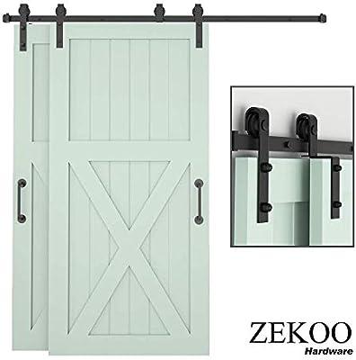 ZEKOO kit de herramientas para puerta corredera de granero, una ...
