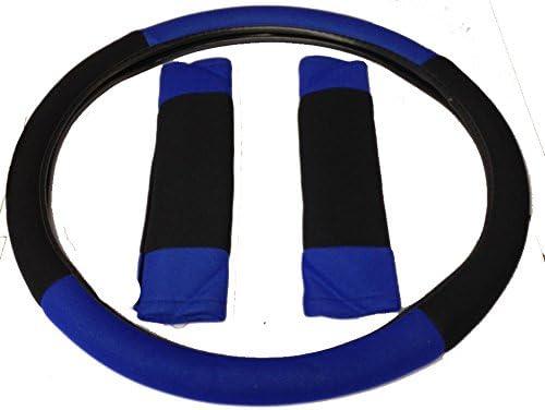 Wheels N Bits Nissan X-Trail Pathfinder Navara BLUE /& BLACK Universal PU Leather Type Car Seat Covers Full Set