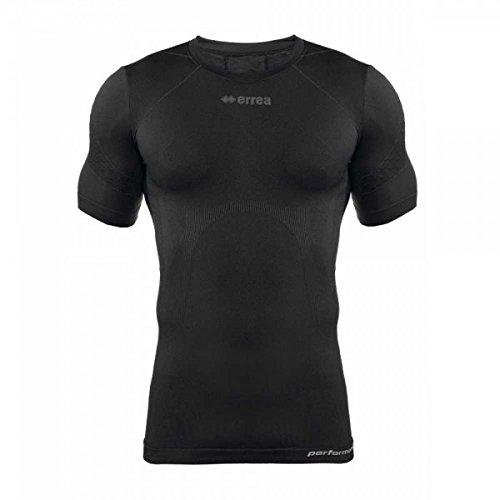 Errea 3dwear Camiseta Térmica David SS Negro XXL