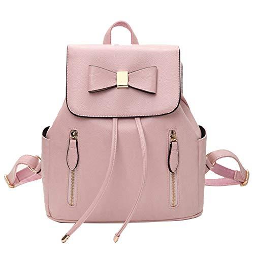 Dos Les Cuir Femmes Bandoulière À Dames Pour En Pu Mode Pink L'école Filles De Sac Voyage PqrOrUIY