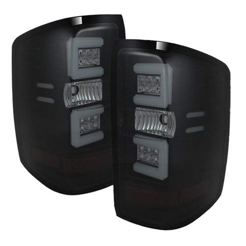 Spyder Auto 5079992 LED Tail Lights Black/Smoked