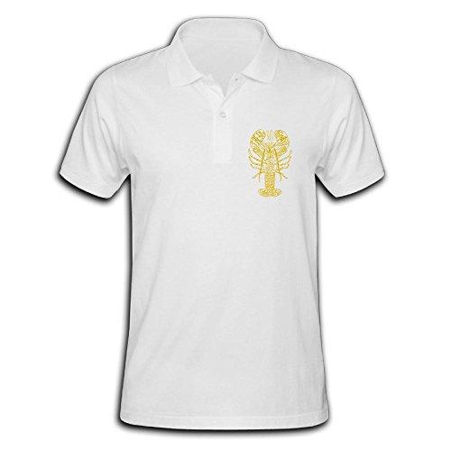 Male's Polo Shirt Short Sleeve With Classic Printing Medium - Sale Dries Noten Men Van