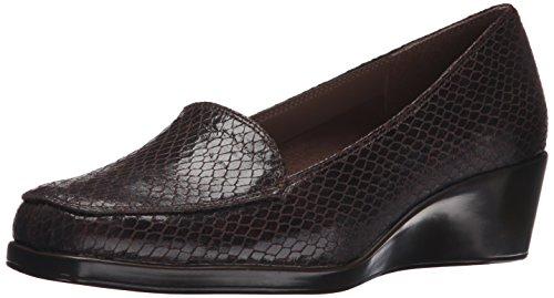 Aerosoles Women's Final Exam Wedge,Brown Exotic,7 M US (Shoes For Women Online)