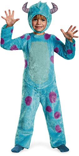 Disney Pixar Monsters University Sulley Toddler Deluxe Costume, 2T -