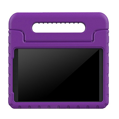 BMOUO Samsung Galaxy Tab A 7.0 inch Kids Case - EVA ShockProof Case Light Weight Kids Case Super Protection Cover Handle Stand Case for Kids Children for Samsung Galaxy TabA 7-inch Tablet - Purple