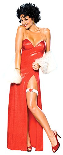 [Betty Boop Starlet Costume - Medium - Dress Size 10-12] (Halloween Betty Boop Costume)