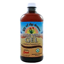 Aloe Vera Gel by Lily Of The Desert - 16 oz