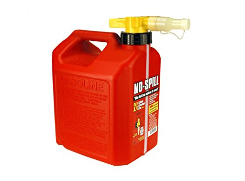 Rotary No-Spill 2-1/2 Gallon Gas Can (Red) 13460 by Rotary
