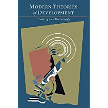 Modern Theories of Development: An Introduction to Theoretical Biology