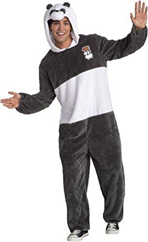 Bear Halloween Costumes Men - We Bare Bears Panda Bear Men's