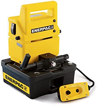 Enerpac PUJ-1401E Economy Electric Pump with VM4 Valve and 4 Liters Usable Oil Capacity