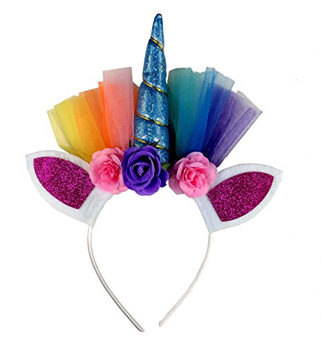 Unicorn Halloween Headband Headwear Cat Ear for Children Girl Kid Adults Fancy Dress Party Birthday Christmas Headband Party Accessories for $<!--$6.99-->
