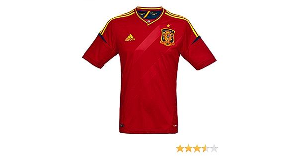 adidas Camiseta España -Junior-2012-1ª equipación: Amazon.es: Deportes y aire libre