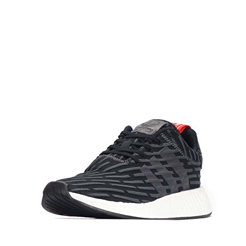 adidas NMD_xr1, Sneaker Uomo Solid Grey-White-Red 42 EU, (Solid Grey-White-Red), 40 EU