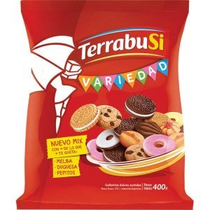 Terrabusi Galletitas / Assorted Cookies (Variedad Dorada, 300 gr.)