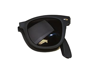 c1acc12a1e1 Amazon.com  Gravity Shades Foldable Matte Black Sunglasses + GT Case   Clothing