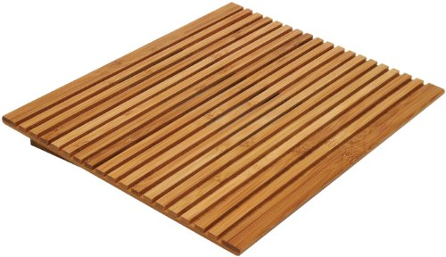 Lipper International 1889 Bamboo Slotted Holder/Cooling T...