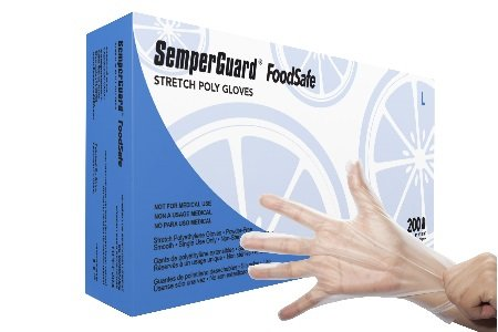 SemperGuard FoodSafe Stretch Poly Gloves