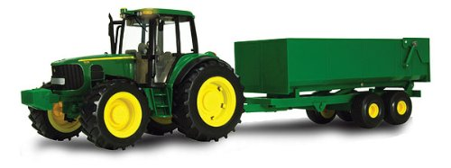 B2breplicas ERT46077 Big Farm 6930 Tractor With Lights N Sound And Wagon