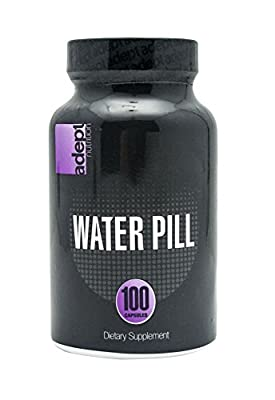 ADEPT NUTRITION Water Loss Capsules, 100 Count