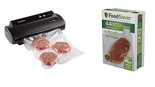 FoodSaver V2244 Vacuum Sealer Machine (Sealer with Bags) (Bag Machine Sealer)