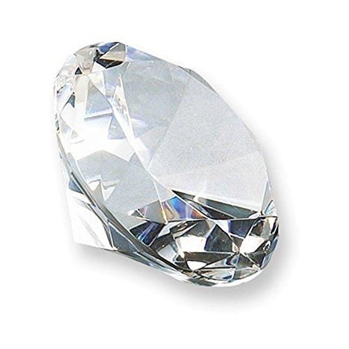 Crystal Round Gem Paperweight