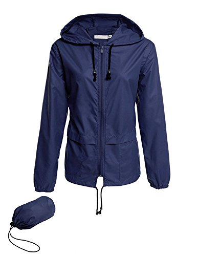 Avoogue Raincoat Women Lightweight