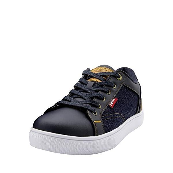 Levis Men's Jeffrey 501 Denim Sneaker