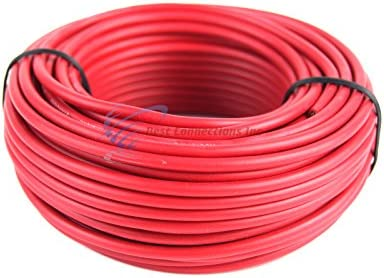 Primary Trailer Light Cable Wiring Harness 16 Gauge 100/' Wire Roll Yellow Camper