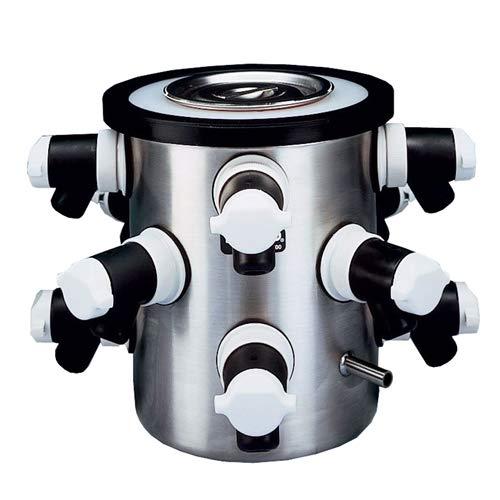 LABCONCO//BUCHLER 7522700 Dry Ice Benchtop Freeze Dry System 12 Port -75/°C Collector Temperature 9.75 H x 8.75 Diameter 9.75 H x 8.75 Diameter