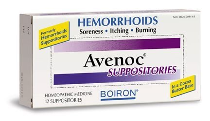 BOIRON AVENOC SUPPOSITORIES, 12 CT by Boiron