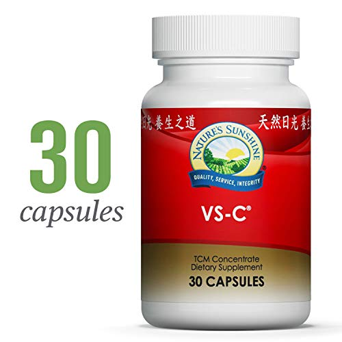 Nature's Sunshine VS-C TCM Concentrate, 30 Capsules | Natural Immune System Booster Fights Off Biological Stressors Using The Best of Chinese and Western Herbs