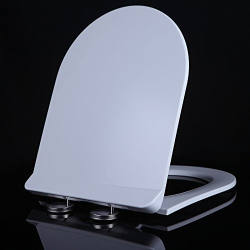 White U Type Pp Topseh The Toilet Cover Is Generally Thickened, And The Cover Is Lowered By One Key To Remove The New V Toilet Seat Cover,White U Type Ppsimple Modern Comfortable Bacteria Removal Home Toilet Common